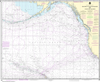 NOAA Chart 530: North America West Coast - San Diego to Aleutian Islands and Hawai'ian Islands