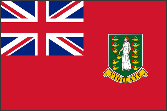 Flag of British Virgin Islands (Ensign)
