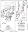 CHS Print-on-Demand Charts Canadian Waters-4582: Plans in Notre Dame Bay, CHS POD Chart-CHS4582