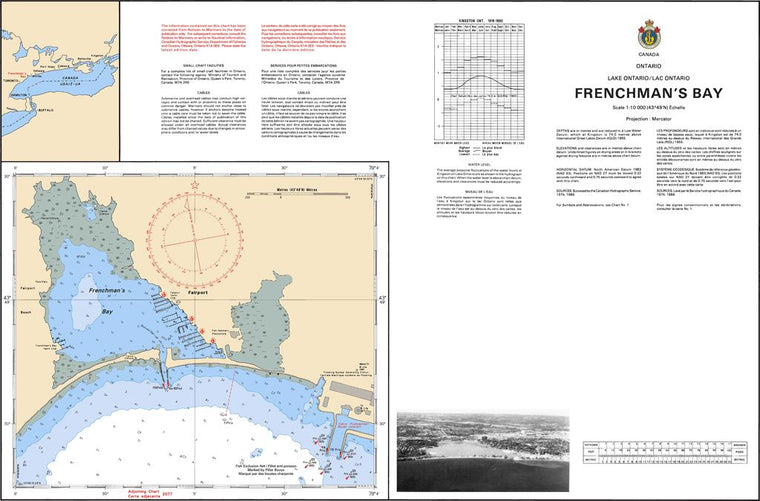 CHS Chart 2055: Frenchmans Bay