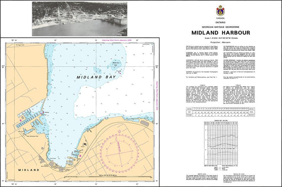 CHS Chart 2221: Midland Harbour