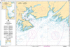 CHS Print-on-Demand Charts Canadian Waters-4641: Port aux Basques and Approaches/et les Approches, CHS POD Chart-CHS4641