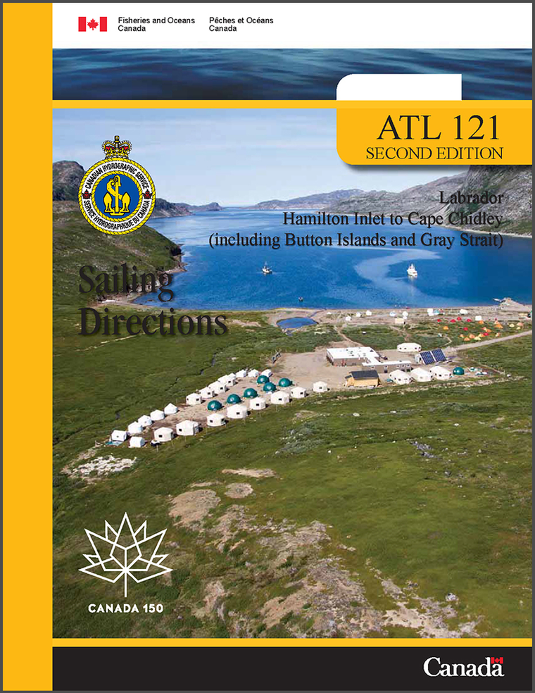 Sailing Directions ATL121E: Labrador, Hamilton Inlet to Cape Chidley