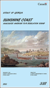 CHS Chart 3311: Sunshine Coast, Vancouver Harbour to/à Desolation Sound