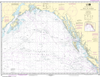 NOAA Print-on-Demand Charts US Waters-Gulf of Alaska Strait of Juan de Fuca to Kodiak Island-531