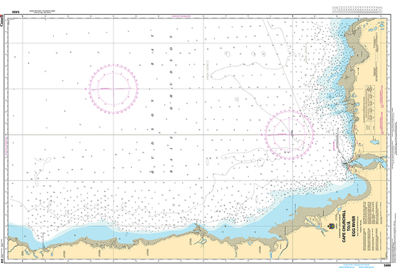 CHS Print-on-Demand Charts Canadian Waters-5400: Cape Churchill to/€ Egg River, CHS POD Chart-CHS5400