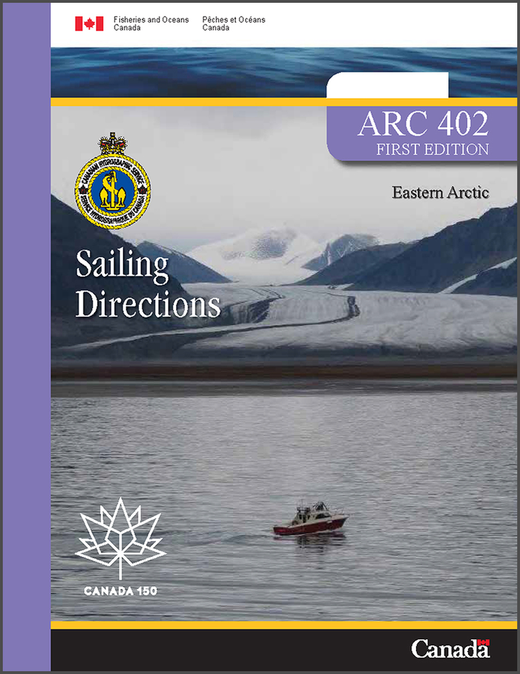 Sailing Directions ARC402E: Eastern Artic