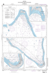 NGA Chart 81711: Roi Anchorage, Kwajalein Anchorage and Approaches Plans: A. Roi Anchorage