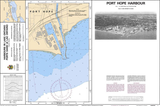 CHS Chart 2053: Port Hope Harbour