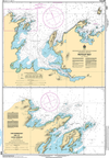 CHS Print-on-Demand Charts Canadian Waters-4509: Pistolet Bay, CHS POD Chart-CHS4509