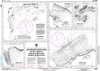 CHS Print-on-Demand Charts Canadian Waters-4668: Anchorages / Mouillages in the / dans le Strait of Belle Isle / DЋtroit de Belle Isle, CHS POD Chart-CHS4668