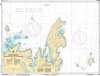 CHS Print-on-Demand Charts Canadian Waters-4512: Quirpon Harbour and Approaches / et les approches, CHS POD Chart-CHS4512