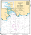 CHS Print-on-Demand Charts Canadian Waters-4419: Souris Harbour and Approaches / et les approches, CHS POD Chart-CHS4419