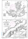 CHS Print-on-Demand Charts Canadian Waters-4591: Pilleys Island Harbour-Halls Bay and/et Sunday Cove, CHS POD Chart-CHS4591