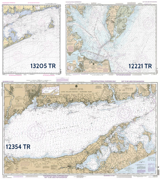 Three-Pack of NOAA Training Charts