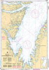 CHS Print-on-Demand Charts Canadian Waters-4851: Trinity Bay - Southern Portion/Partie Sud, CHS POD Chart-CHS4851