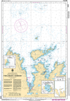 CHS Print-on-Demand Charts Canadian Waters-4886: Twillingate Harbours, CHS POD Chart-CHS4886