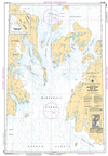 CHS Print-on-Demand Charts Canadian Waters-7935: Crozier Strait and/et Pullen Strait, CHS POD Chart-CHS7935