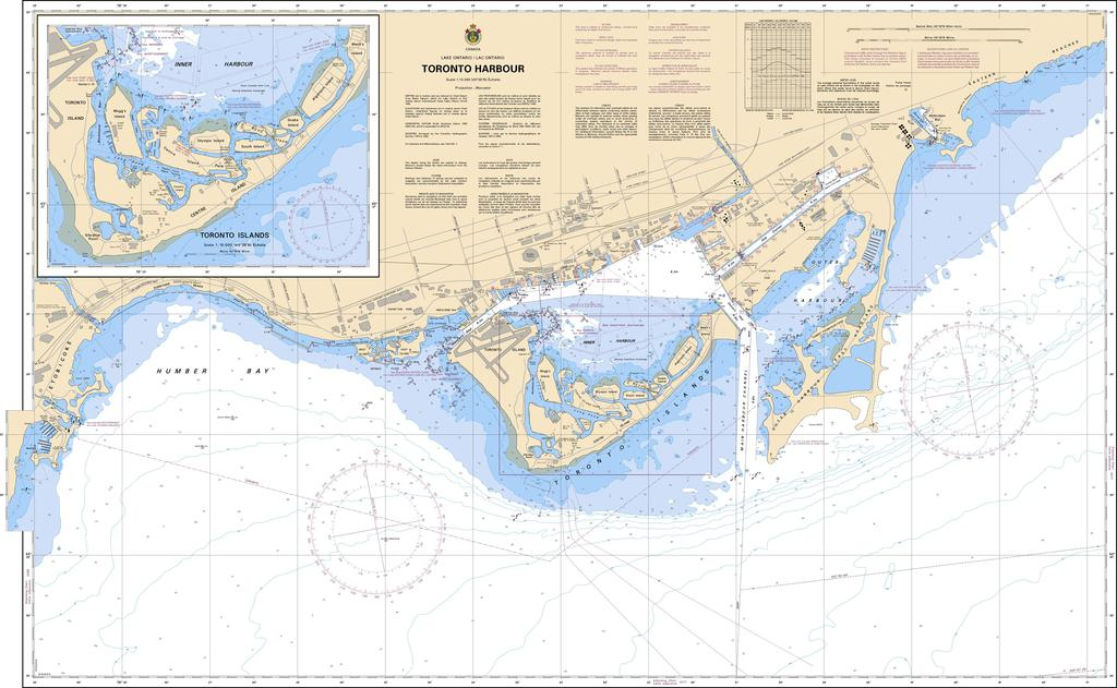 CHS Chart 2085: Toronto Harbour