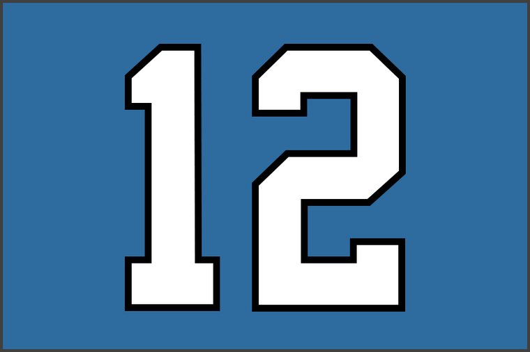 Double-Sided 12th Man Seahawks Flag