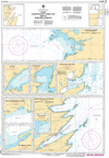 CHS Print-on-Demand Charts Canadian Waters-4849: Plans, Conception Bay, Trinity Bay and / et Bonavista Harbour, CHS POD Chart-CHS4849