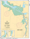 CHS Print-on-Demand Charts Canadian Waters-4443: East River of Pictou: Indian Cross Point to / € Trenton and New Glasgow, CHS POD Chart-CHS4443