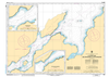 CHS Print-on-Demand Charts Canadian Waters-4523: Little Bay Arm and Approaches / et les approches, CHS POD Chart-CHS4523