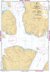 CHS Print-on-Demand Charts Canadian Waters-7569: Barrow Strait and/et Wellington Channel, CHS POD Chart-CHS7569