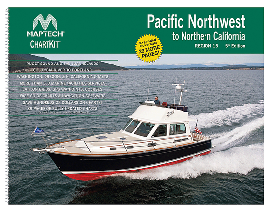 Captain's-Nautical-Supplies-MapTech-ChartKit-Region15-Pacific-Northwest-Northern-CaliforniaP1