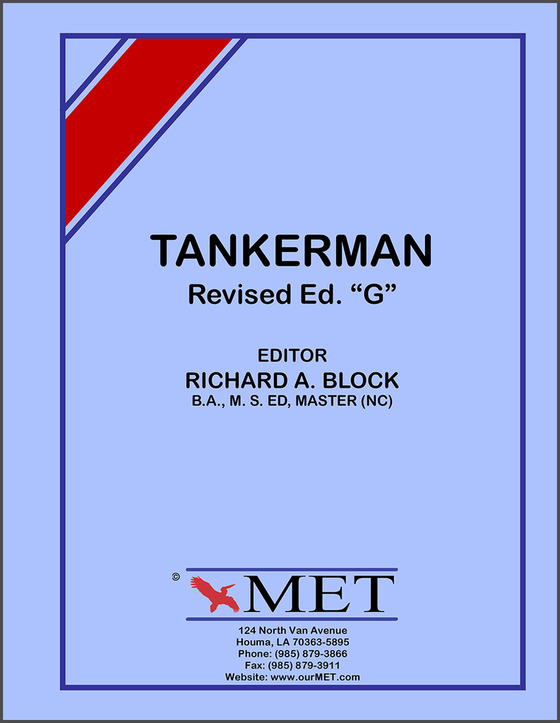 Tankerman License Study Guide