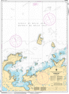 CHS Print-on-Demand Charts Canadian Waters-4511: Sacred Bay, CHS POD Chart-CHS4511