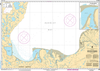 CHS Print-on-Demand Charts Canadian Waters-7687: Approaches to/Approches € Paulatuk Harbour, CHS POD Chart-CHS7687