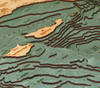 WoodChart of Santa Barbara and Channel Islands, California