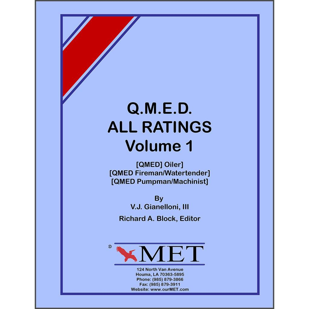 QMED All Ratings Volume 1