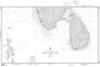 NGA Chart 63010: Cochin to Calimere Pt, with Sri Lanka and the northern portion of the