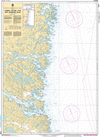 CHS Print-on-Demand Charts Canadian Waters-4702: Corbett Island to/€ Ship Harbour Head, CHS POD Chart-CHS4702