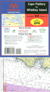 Captain's-Nautical-Supplies-Maptech-Waterproof-Chart-Cape-Flattery-Whidbey-Island