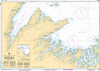 CHS Print-on-Demand Charts Canadian Waters-4821: White Bay and/et Notre Dame Bay, CHS POD Chart-CHS4821