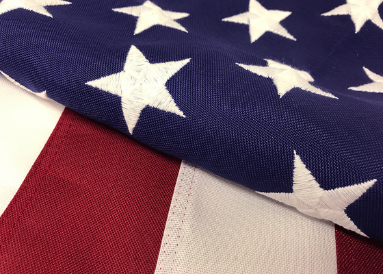 "American Flag, ""Tough-Tex"" Polyester"