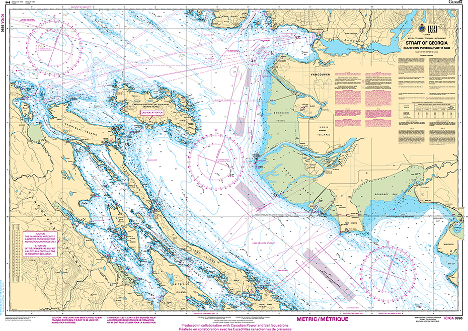 CHS Print-on-Demand Charts Canadian Waters-9996IC: St. Michael Bay to / aux Gray Islands, CHS POD Chart-CHS9996IC