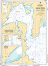 CHS Print-on-Demand Charts Canadian Waters-4587: Mortier Bay, CHS POD Chart-CHS4587