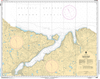 CHS Print-on-Demand Charts Canadian Waters-5458: Sugluk Inlet, CHS POD Chart-CHS5458