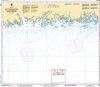 CHS Print-on-Demand Charts Canadian Waters-4453: лle € la Brume €/to Pointe Curlew, CHS POD Chart-CHS4453
