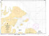 CHS Print-on-Demand Charts Canadian Waters-7185: Kangeeak Point and Approaches, CHS POD Chart-CHS7185