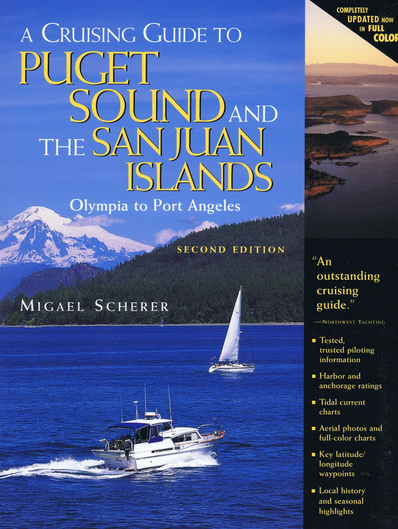Captain's-Nautical-Supplies-A-Cruising-Guide-to-Puget-Sound-and-The-Sa- Juan-Islands-Migael-Scherer