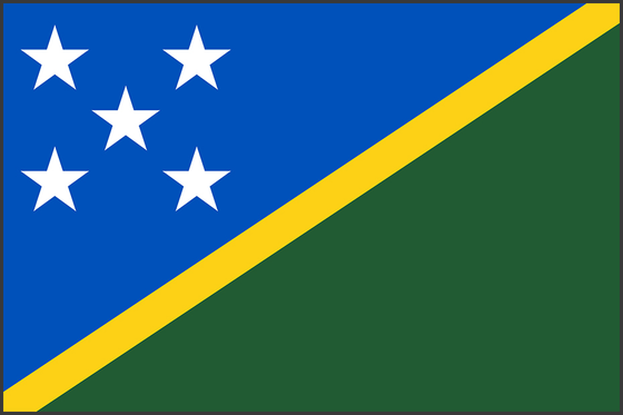 Flag of Solomon Islands