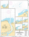 CHS Print-on-Demand Charts Canadian Waters-6371: Harbours in Great Slave Lake / Havres dans le Grand Lacs des Esclaves - South Shore / C™te sud, CHS POD Chart-CHS6371