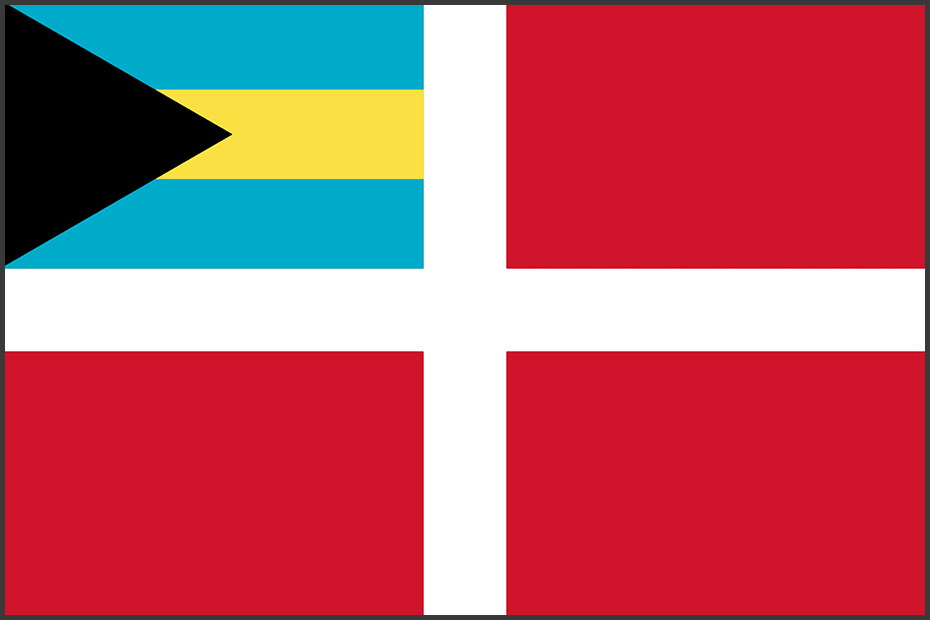 Flag of Bahamas (Courtesy)