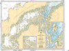 CHS Print-on-Demand Charts Canadian Waters-7608: Eskimo Lakes, CHS POD Chart-CHS7608