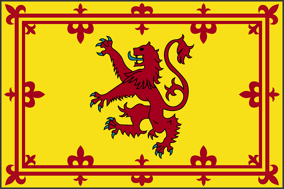 Flag of Scotland (Rampant Lion)